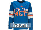 New York Mets adidas MLB Youth Long Sleeve Crew Neck T-Shirt T-Shirts