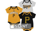 Pittsburgh Pirates adidas MLB Infant 3 Piece Bodysuit Set Infant Apparel