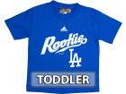 Los Angeles Dodgers Outerstuff MLB Toddler Rookie T-Shirt T-Shirts