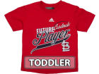 St. Louis Cardinals Outerstuff MLB Toddler Rookie T-Shirt T-Shirts