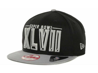Super Bowl XLVII NFL Super Bowl XLVII Three Deep 9FIFTY Cap Hats