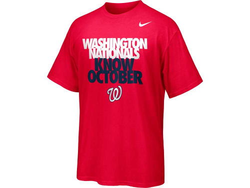 Washington Nationals Nike MLB Know October T-Shirt 2012