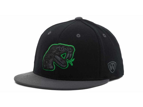 Florida A&M Rattlers Top of the World NCAA 86 Confidential Cap Hats