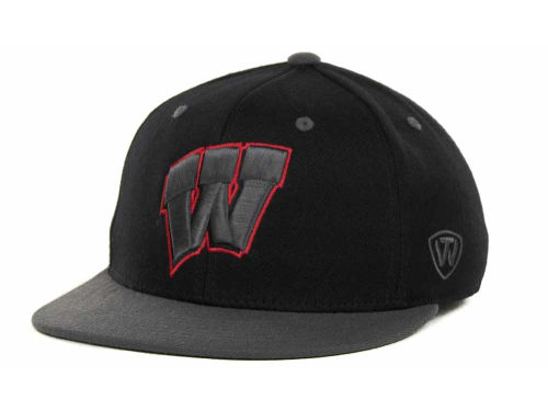 Wisconsin Badgers Top of the World NCAA 86 Confidential Cap Hats