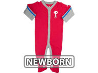 Outerstuff MLB Newborn Long Sleeve Jersey Coverall Infant Apparel