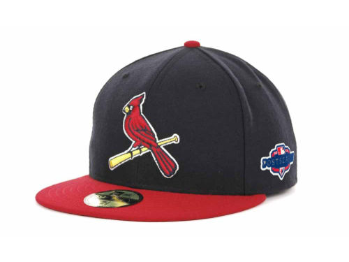 St. Louis Cardinals New Era 2012 MLB Post Season Patch 59FIFTY Cap Hats