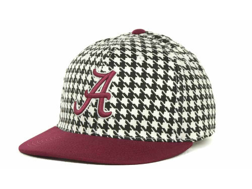 Alabama Crimson Tide Top of the World King Houndstooth Hats