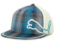 Puma Monoline 210 Pattern Cap Stretch Fitted Hats