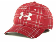 Under Armour Galaxy Plaid Cap Stretch Fitted Hats
