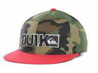 Quiksilver Blocked Flex Cap Stretch Fitted Hats