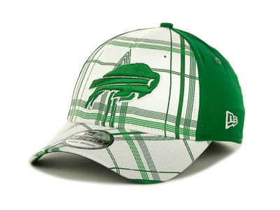 Buffalo Bills NFL Plaidtastic St Pats 39THIRTY Cap Hats