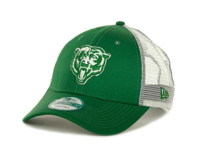 Chicago Bears NFL Mesh Mode 2 St. Pats 9FORTY Cap Hats