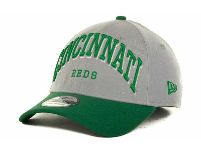 Cincinnati Reds MLB Arch Mark Classic St Pats 39THIRTY Cap Hats
