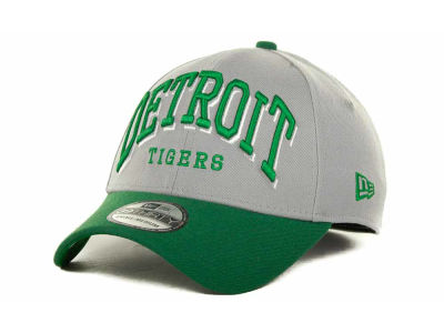 Detroit Tigers MLB Arch Mark Classic St Pats 39THIRTY Cap Hats