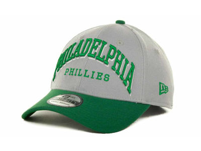 Philadelphia Phillies MLB Arch Mark Classic St Pats 39THIRTY Cap Hats