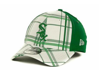 Chicago White Sox MLB Plaidtastic St Pats 39THIRTY Cap Hats