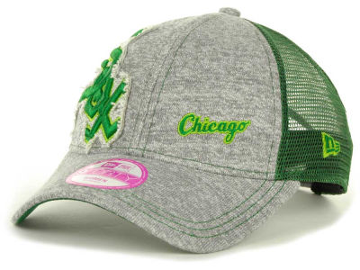Chicago White Sox MLB Twist Trucker St Pats 9FORTY Cap Hats