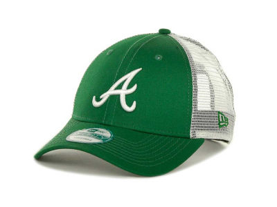 Atlanta Braves MLB Mesh Mode 2 St Pats 9FORTY Cap Hats
