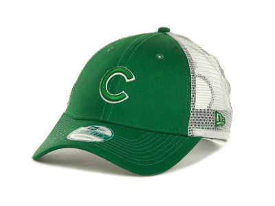Chicago Cubs MLB Mesh Mode 2 St Pats 9FORTY Cap Hats