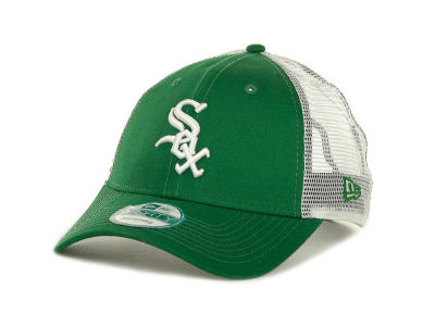Chicago White Sox MLB Mesh Mode 2 St Pats 9FORTY Cap Hats