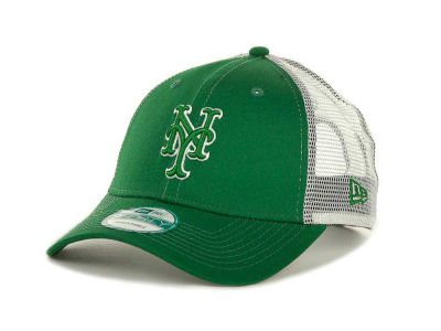 New York Mets MLB Mesh Mode 2 St Pats 9FORTY Cap Hats