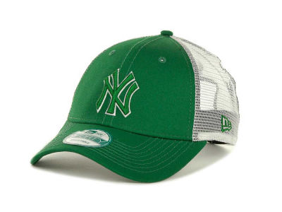 New York Yankees MLB Mesh Mode 2 St Pats 9FORTY Cap Hats
