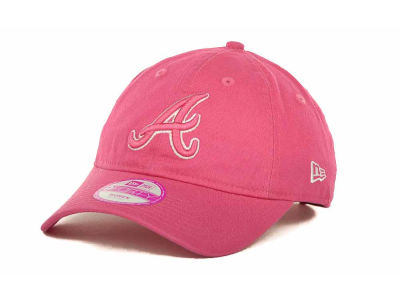 Atlanta Braves MLB Womens Fashion Essential 9FORTY Cap Hats