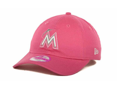 Miami Marlins MLB Womens Fashion Essential 9FORTY Cap Hats
