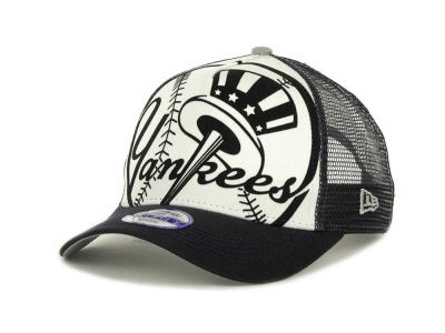New York Yankees MLB Flocked Frontal 9FORTY Cap Hats