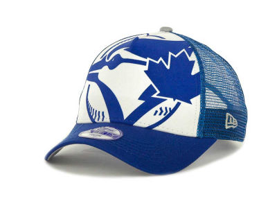 Toronto Blue Jays MLB Flocked Frontal 9FORTY Cap Hats