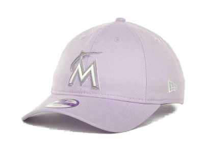 Miami Marlins MLB Jr Fashion Essential 9FORTY Cap Hats