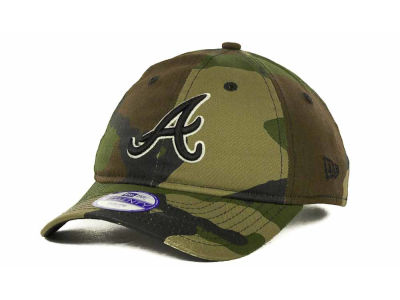 Atlanta Braves MLB Kids Foxhole Repraise 9TWENTY Cap Hats