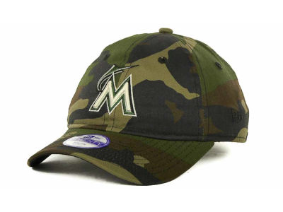 Miami Marlins MLB Kids Foxhole Repraise 9TWENTY Cap Hats