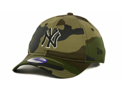 New York Yankees MLB Kids Foxhole Repraise 9TWENTY Cap Hats