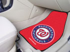 Washington Nationals Car Mats Set/2 Auto Accessories