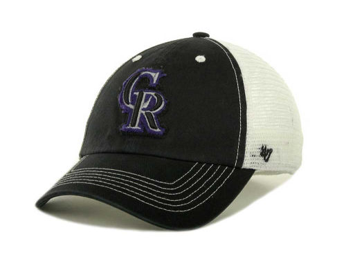 Colorado Rockies '47 MLB Blue Mountain Franchise Cap Hats