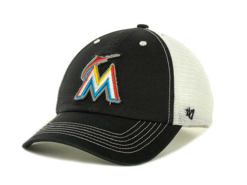 Miami Marlins '47 MLB Blue Mountain Franchise Cap Hats
