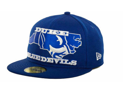 Duke Blue Devils NCAA State Insider 59FIFTY Cap Hats
