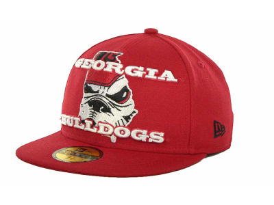 Georgia Bulldogs NCAA State Insider 59FIFTY Cap Hats
