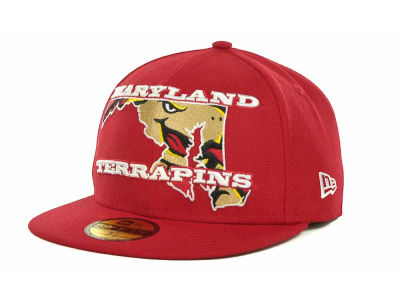Maryland Terrapins NCAA State Insider 59FIFTY Cap Hats