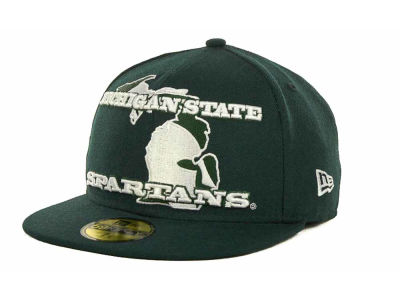 Michigan State Spartans NCAA State Insider 59FIFTY Cap Hats
