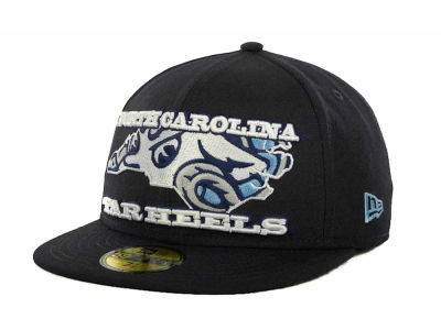 North Carolina Tar Heels NCAA State Insider 59FIFTY Cap Hats