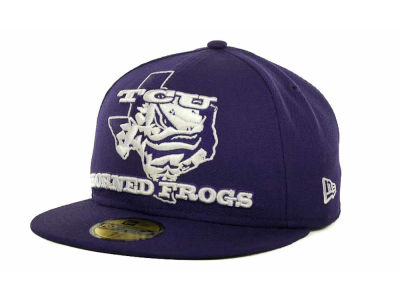 Texas Christian Horned Frogs NCAA State Insider 59FIFTY Cap Hats