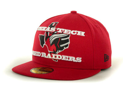 Texas Tech Red Raiders NCAA State Insider 59FIFTY Cap Hats