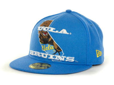 UCLA Bruins NCAA State Insider 59FIFTY Cap Hats