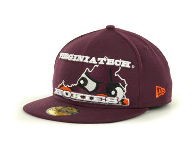 Virginia Tech Hokies NCAA State Insider 59FIFTY Cap Hats