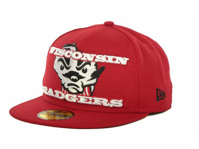 Wisconsin Badgers NCAA State Insider 59FIFTY Cap Hats