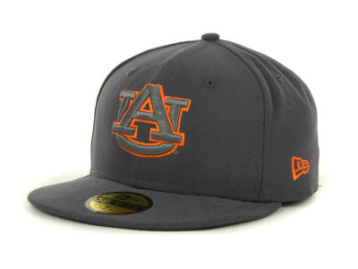 Auburn Tigers NCAA Gray Pop 59FIFTY Cap Hats