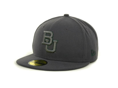Baylor Bears NCAA Gray Pop 59FIFTY Cap Hats