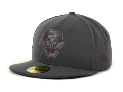 Boston College Eagles NCAA Gray Pop 59FIFTY Cap Hats